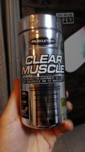 muscletechのクリアマッスル