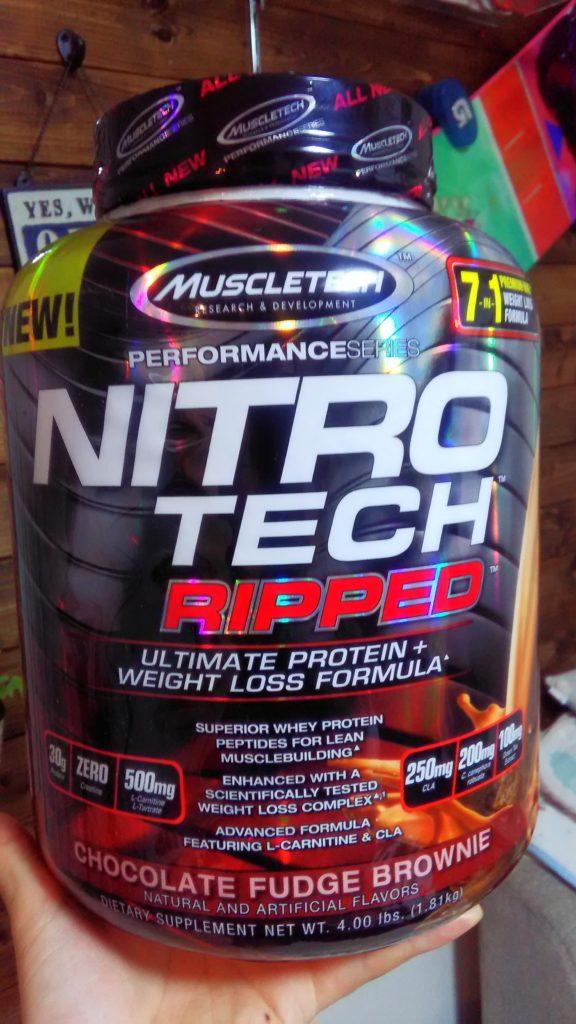 nitrotech rippea パッケージ