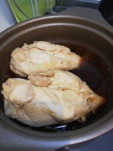 鶏チャーシュー鍋
